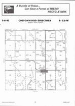Cottonwood Township, Holstein, Directory Map, Adams County 2007
